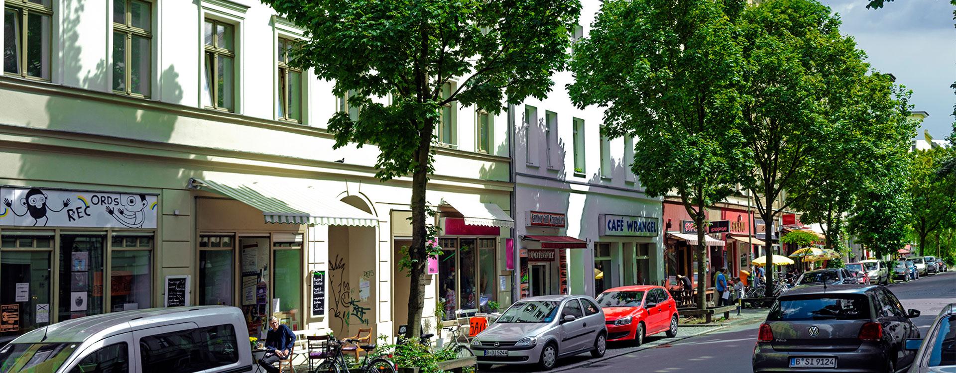 Downtown Kreuzberg: Kiezflair in der Wrangelstraße
