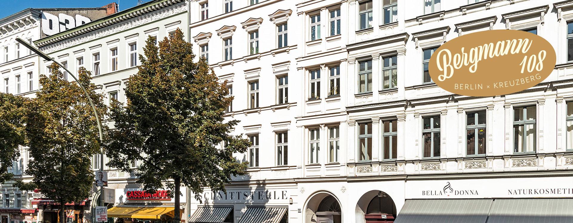 Bergmann108: Wohnungen in Kreuzberg kaufen