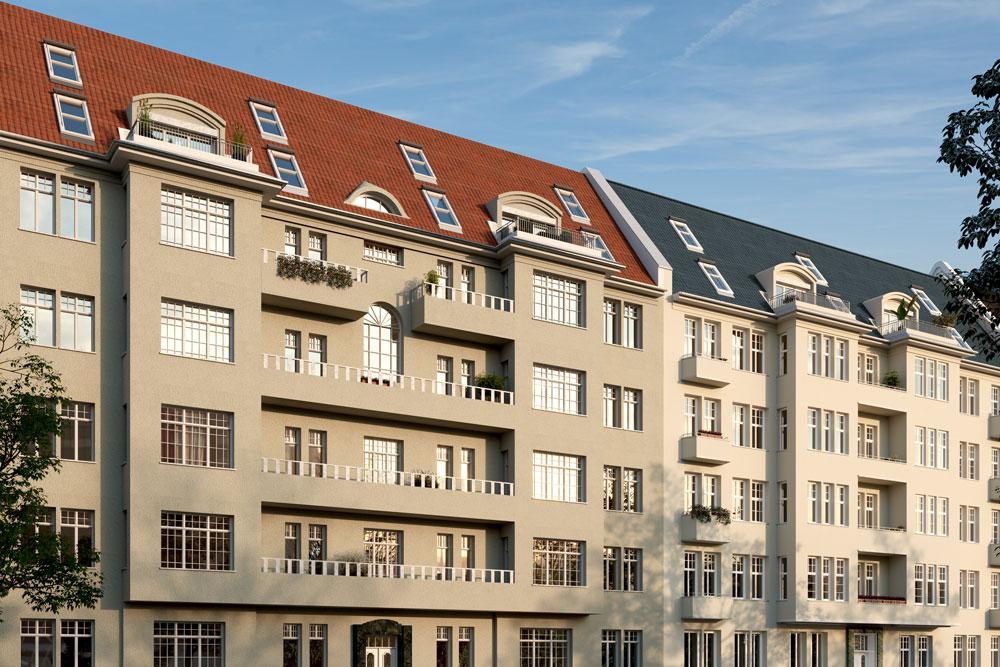 Penthouse-Wohnungen-Dachgeschoss